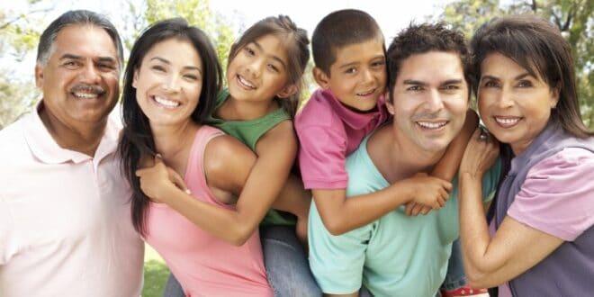 La familia extensa, la mejor estrutura social para crecer y convivir